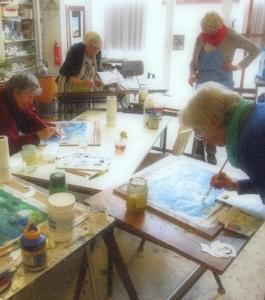 cursus tekenen schilderen beeldhouwen